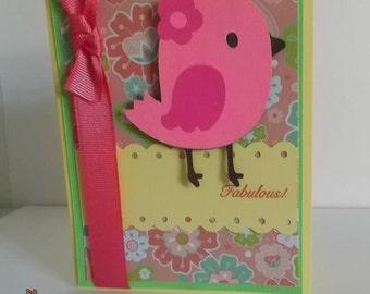 Fabulous Bird Card