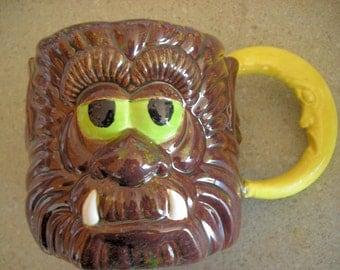 Wolfman Monster Ceramic coffee mug