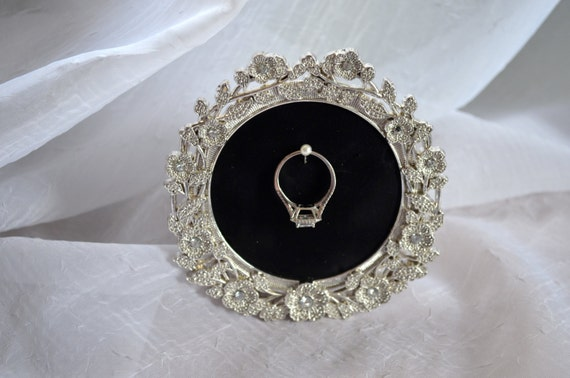 engagement wedding ring picture frame ring by