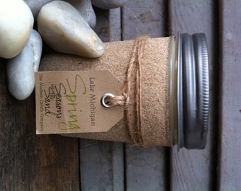 Lake Michigan Door County Spring Soy Candle Seasons in the Sand March April May June