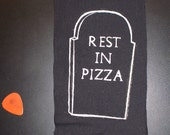 Rest in Pizza Patch DIY pizza punx