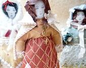 Valentine Decoration Cloth Art Doll - Valerie