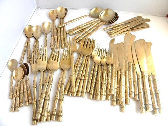 how to clean brass flatware