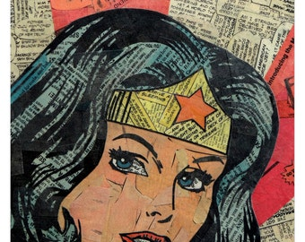 Wonder Woman Print 11x17