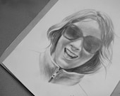 Custom order - portrait drawing from photo