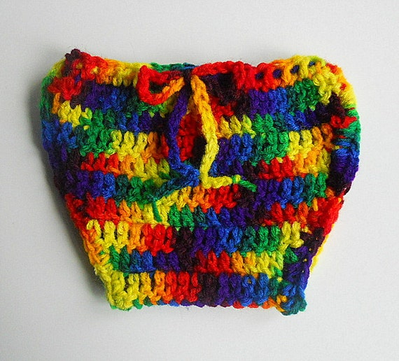Rainbow  Diaper Cover  Baby Boy Nappy Soaker Infant Girl Cozy Toddler  Children 3 To 6  Months  Red Yellow Green Blue Orange Clothing
