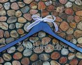 Mrs (Last Name) Personalized Wedding Name Hanger- Single Line