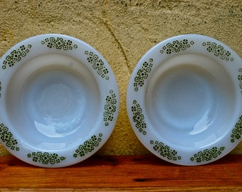 Set of Two Anchor Hocking Bowls
