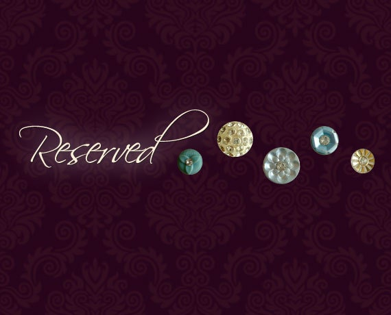 Reserved for Shelley - Midas Touch Button Grab Bag