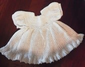 6 mo crocheted dress