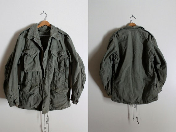 Vintage M-51 Military Cold Weather Field Jacket Small Regular