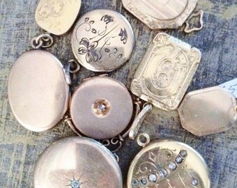 CUSTOM ORDERS Vintage Necklaces Bracelets Charms Lockets Pendants BRIDAL Custom Orders- Bridal Jewelry-Wedding Gifts-Ships Free in U.S.A.