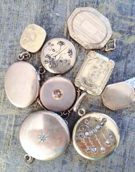 CUSTOM ORDERS Vintage Necklaces Bracelets Charms Lockets Pendants BRIDAL Custom Orders -Starts at 35 Dollars Rustic Wedding Bridal Jewelry