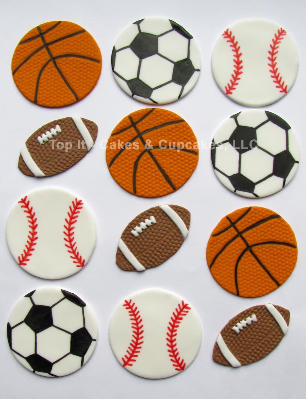 how to make mini soccer balls with fondant