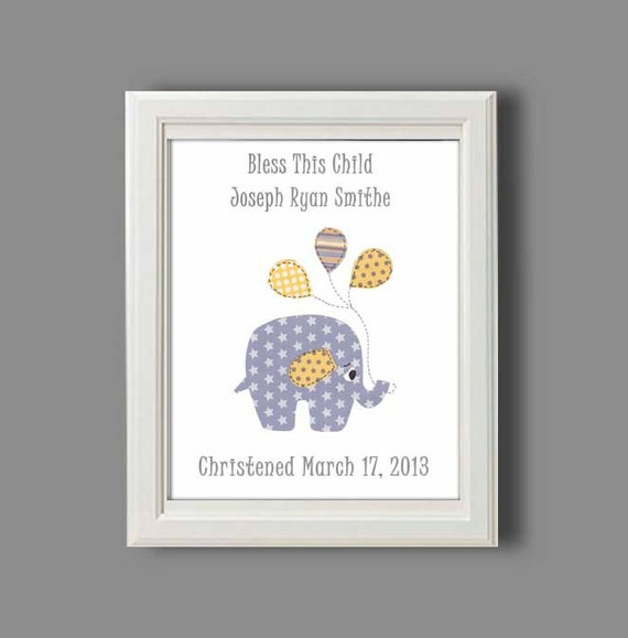 Gift Baby Boy Baptism : Christening gift for baby boy baptism personalized