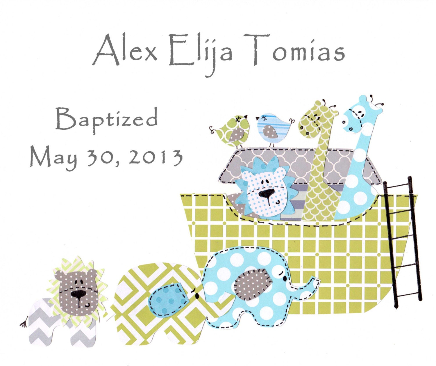 Gift Baby Boy Baptism : Boys baptism gift christening gifts for baby boy