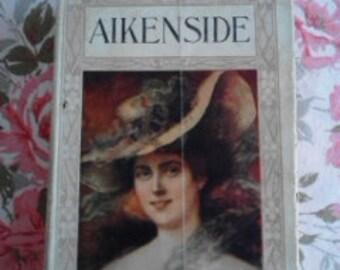 Vintage Book, Aikenside by Mary J. Holmes  ECS