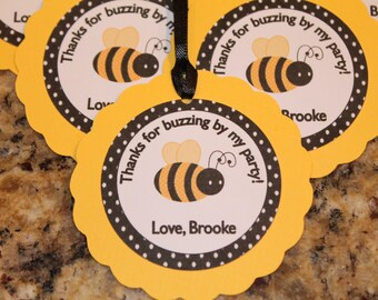 Bumble Bee Thank You Tags