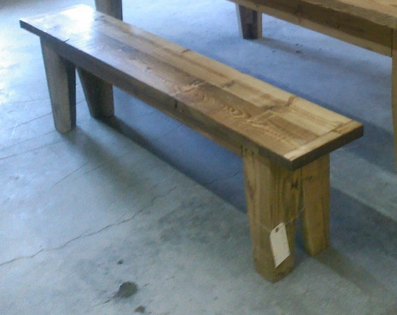 Bench Barn Wood Bench Reclaimed Wood Bench Farmstyle Bench