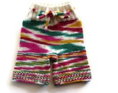M/L Hand Knit Shorties--SECONDS
