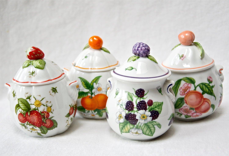 vintage lenox jam jars with stand 1991 fine porcelain. Black Bedroom Furniture Sets. Home Design Ideas