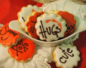 Personalized  Sugar Cookies