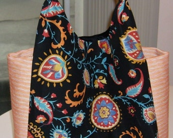 Women accessories, Mother's day, beach bag, big purse, school bag, supply bag, books bag, gift for her, fabric purse, gift bag.