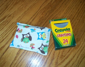 CRAYON POUCH - HOLDS 24 Crayons