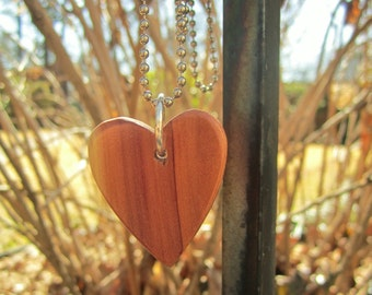 Echo friendly fallen Cedar Tree carved Heart Reclaimed for Love Mom or Weddings