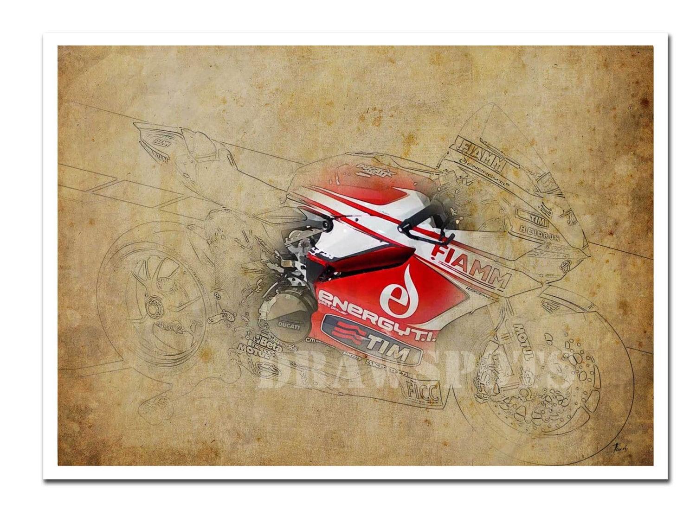 Ducati Panigale Blueprint Ducati 1199 Panigale r Wsbk