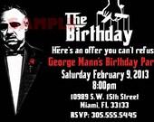 Godfather Birthday Invitation