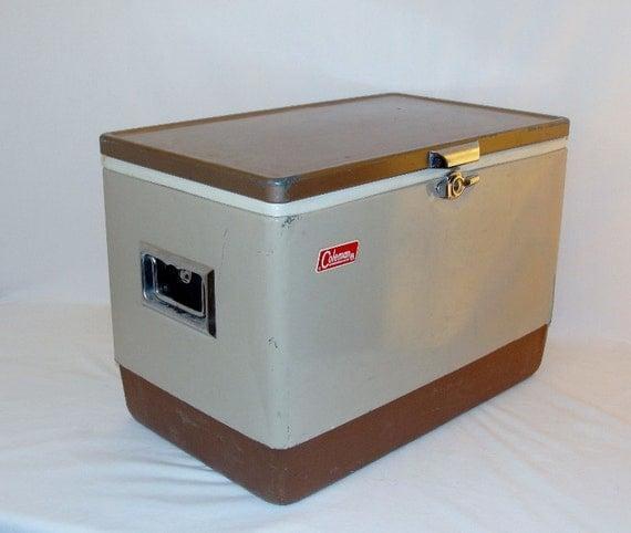 Vintage Coleman Cooler 54 Quart
