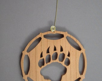 Bear Paw Dream Catcher