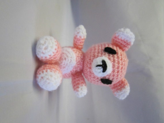 Amigurumi To Go Teddy Bear : Items similar to Amigurumi Bear Teddy Bear Amigurumi Hand ...