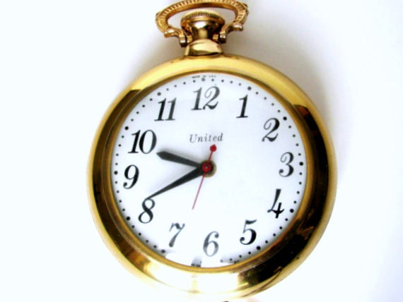 United Clock Pocket Watch Wall Clock Electric Decorative