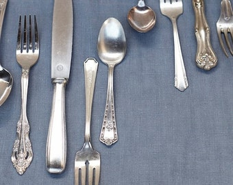 Not Your Grandma's Vintage Flatware (set of 8)