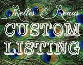 Custom Listing for Briana Smith