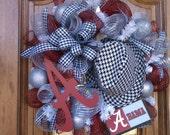 SEC National Champions ALABAMA Wreath