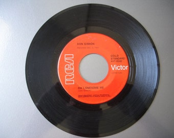 Vintage 45RPM Vinyl Collection - Don Gibson - We have lots of vintage vinyl for you