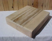 Rustic Unfinished Reclaimed Wood Box - 13&1/2 x 11.75 x 3 In. - Rectangular
