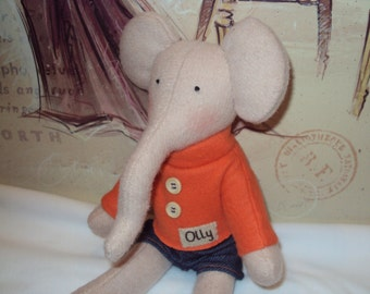 Custom Elephant with Sweater and Shorts for Dena