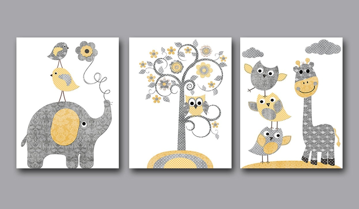 Baby Boy Nursery Art Print Children Wall Art Baby Room Decor