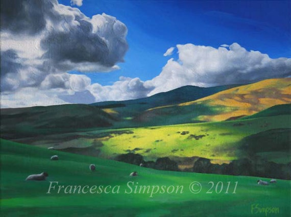 Ingram Valley 2 - Mounted Limited Edition Print