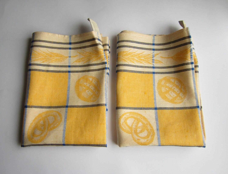 Kitchen Towel With Cotton Set Of 2 Dish Tea Towel Organic