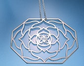 One Meaning Love is My Religion Necklace - Lotus Temple