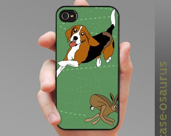 Hound and Hare - Beagle iPhone Case for iPhone 6, iPhone 5/5s or iPhone 4/4s, Samsung Galaxy S6, Galaxy S5, Galaxy S4, Galaxy S3