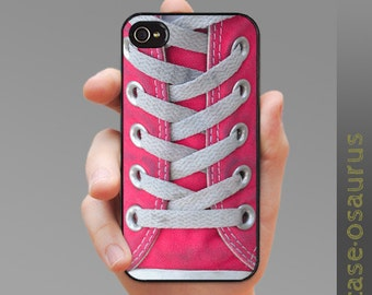 Pink Sneaker iPhone Case -- cover for iPhone 6, iPhone 5/5s oriPhone 4/4S, Samsung Galaxy S6, Galaxy S5, Galaxy S4, Galaxy S3