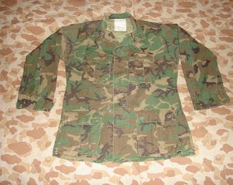 "Rare US ""Rapid Deployment Force"" Camo Jacket, Men's Small-Regular  No. 2"