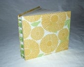 Open Spine Yellow Floral Journal