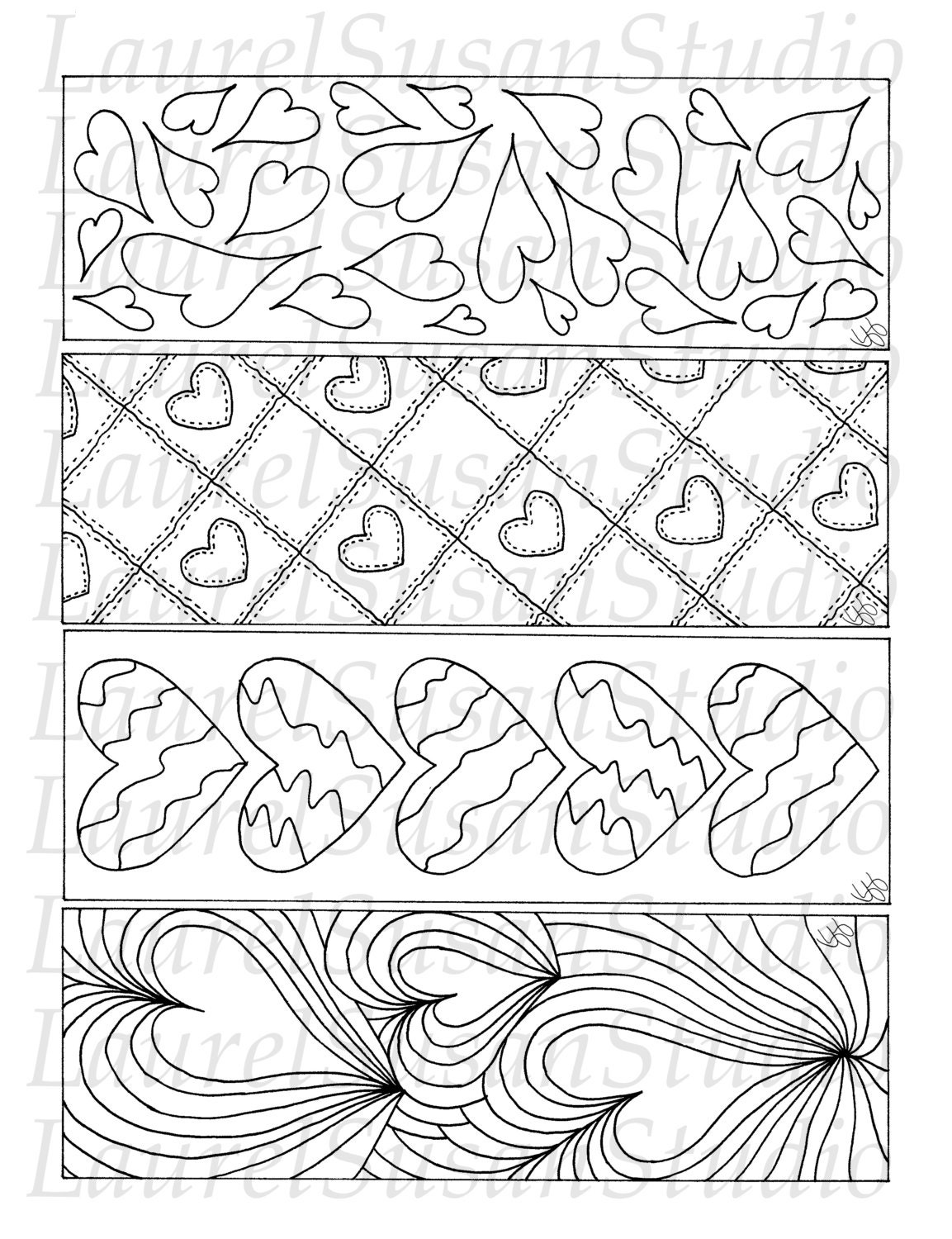 Bookmark - Free Coloring Pages
